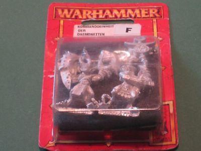 WARHAMMER CHAOS KOMMANDOEINHEIT DER DAEMONETTEN