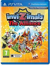 Invizimals: The Alliance NEW Sealed PS Vita Game UK PAL English For Kids PSV GO