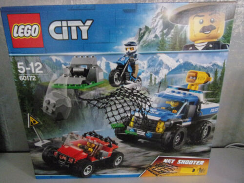 Lego City Different Set's for Selection - 60172 Car Chase on Gravel ...