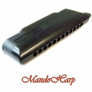 Hohner-Chromatic-Harmonica-7545-48-CX-12-Black-12-hole-SELECT-KEY-NEW