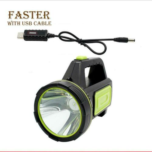 135000LM Xenon LED Rechargeable Work Light Torch Candle Spotlight Hand Lamp