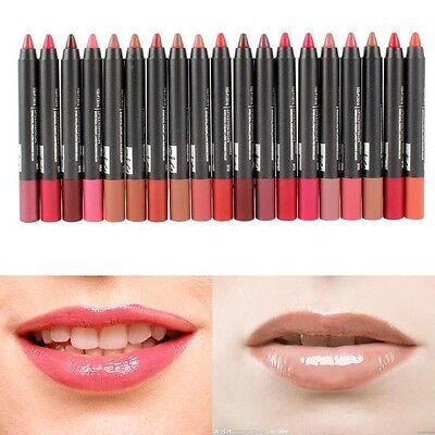 New Lady Waterproof Soft Crayon Long Lasting Lip Pen Pencil Lipstick Makeup Hot