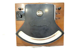 1890-WESTON-Direct-Read-ELECTRICAL-INSTRUMENT-125-VOLTMETER-Gauge-NEWARK-1st-Gen