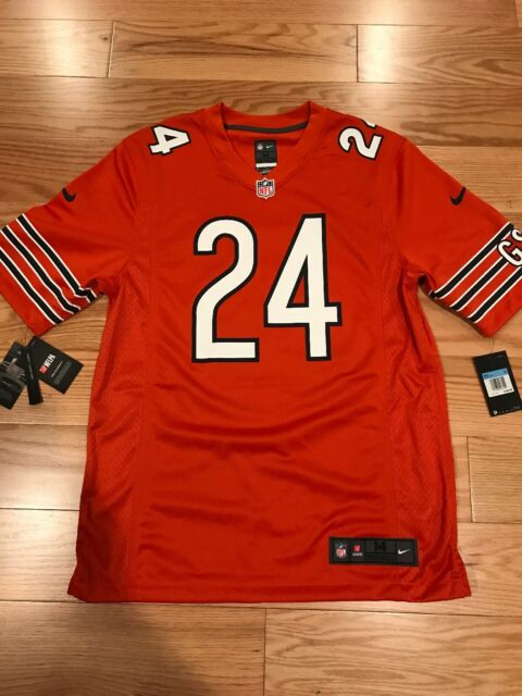 new products e3496 e95b9 Nike NFL Chicago Bears Jordan Howard Away Orange Jersey Navy Size M BNWT