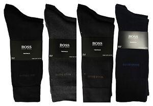 BOSS-Chaussettes-Pack-de-deux-6er-Pack-3xdoppelpack-coton-fin-doux-HUGO