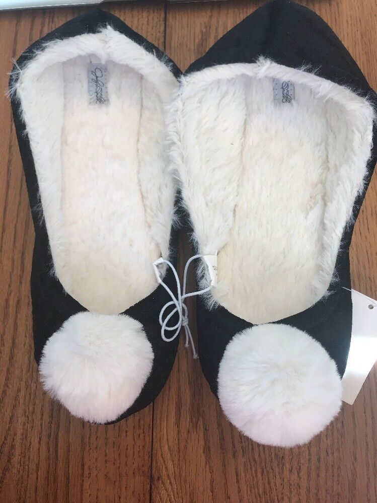 Womens Black S(5/6) Amelia Slippers size S(5/6) Black Ships N 24h 46c302