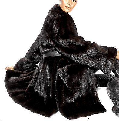 Bene Xl 2xl Vintage Giacca Visone Marrone Scuro Giacca Di Pelliccia Cappotto Visone Mink Fru Jacket Dark-mostra Il Titolo Originale Ulteriori Sorprese