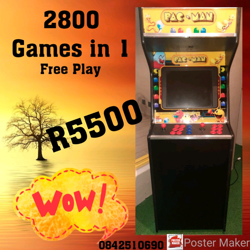 New Arcade Game : 2800 Games in 1 R5500