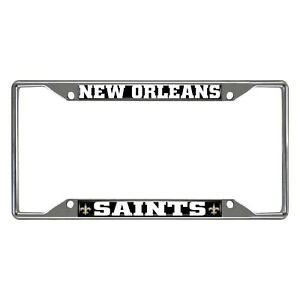 Rico Industries Saints All Over Chrome Frame