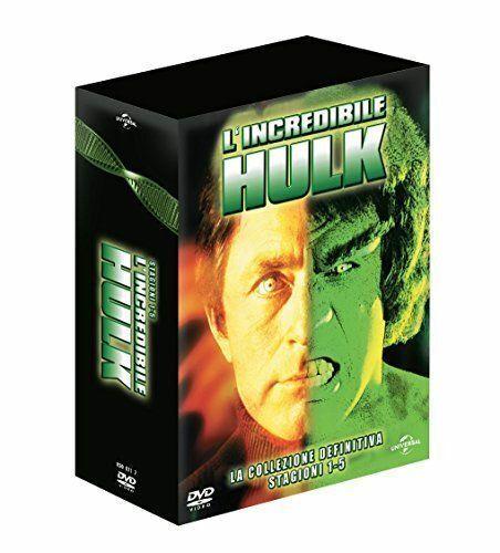 L'INCREDIBILE HULK - LA COLLEZIONE DEFINITIVA  23 DVD