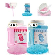 The Candery Cotton Candy Floss Sugar 2 Pack Raspberry Blue And Strawberry 3lbs