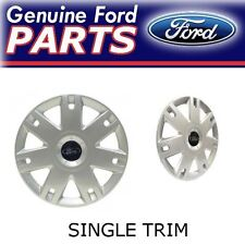 "1X New Genuine 15"" Ford Fiesta Single Wheel Trim Cover Hub Cap"