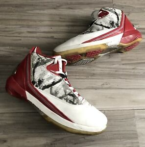 many styles huge selection of shoes for cheap Details about NIKE AIR JORDAN 22 XX2 OMEGA GRAPHIC RED/WHT/GRY SIZE 9.5  (315299-162) BEATERS!