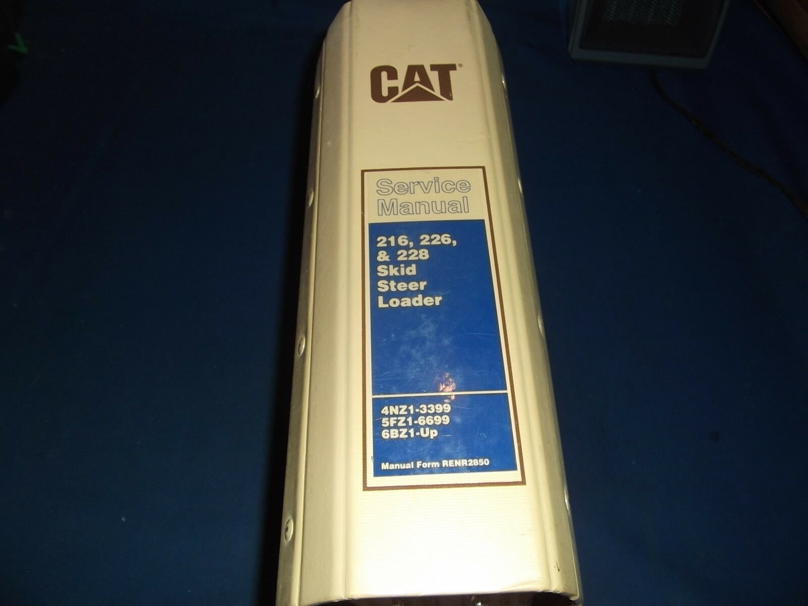 Cat 226 Skid Ster Service Manual