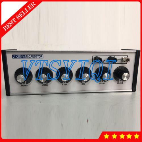 6 Dials DC Bridges Resistance Decade Box Testing Equipment ZX95E