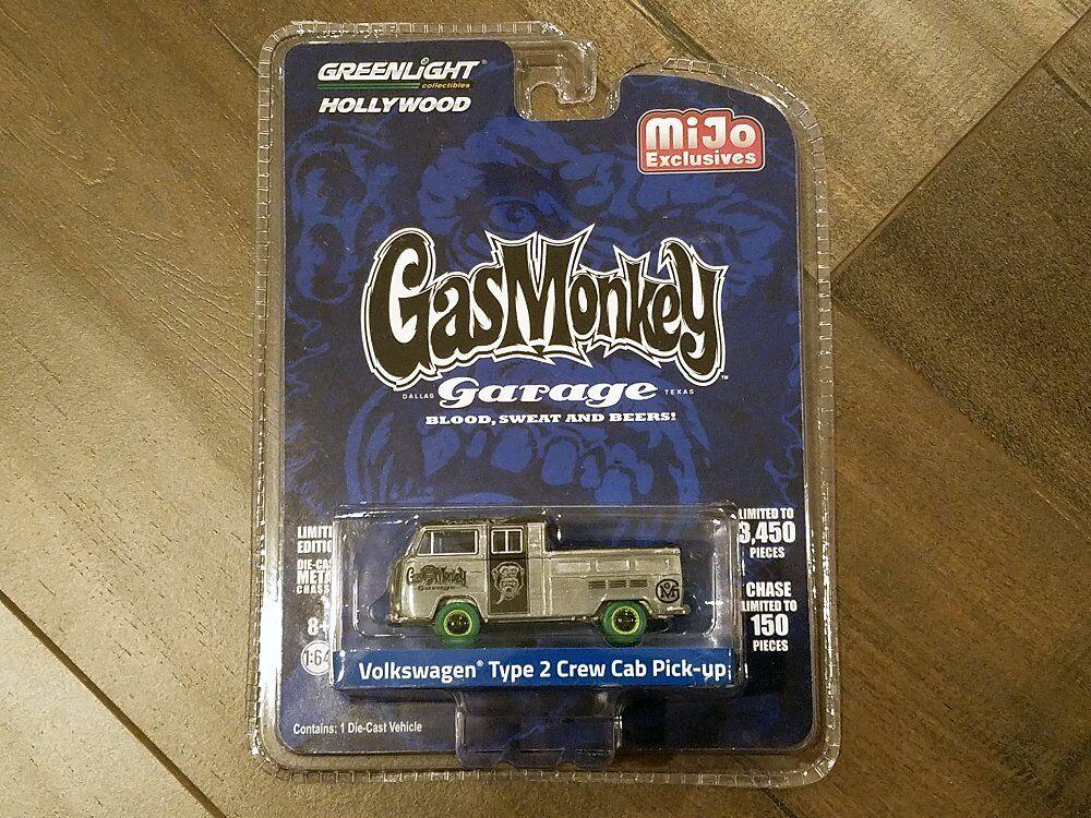 verdelight 1 64 Gas Monkey Garage Volkswagen tipo 2 Crew Cab Pick-up 51148 Chase