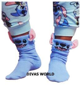 PRIMARK Ladies Disney Lion King Simba Cosy Fluffy Bed Socks One Pair Size UK 4-8