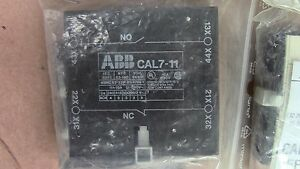 CompéTent 1 Contact Auxiliaire Cal7-11 Contacteur Abb B50 . B63 ; B75 Contactor