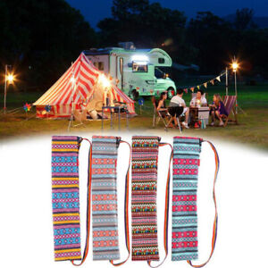 Outdoor Camping Storage Bag Canopy Pole Tent Pole Fishing Rod Finishing HandbF/_X