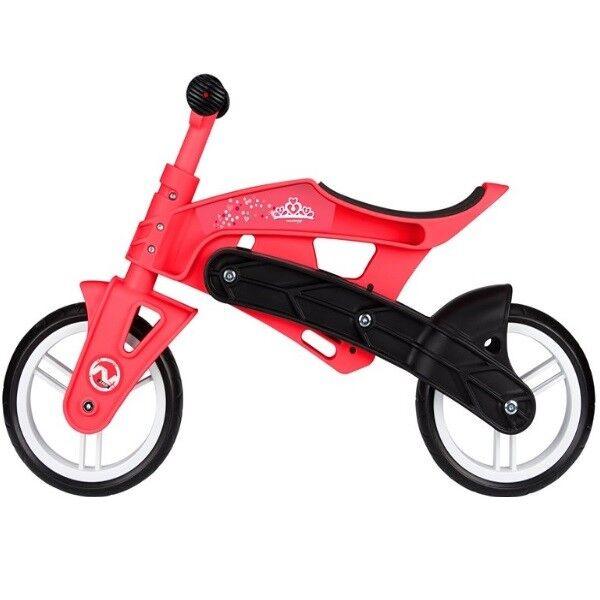 NEU Laufrad Kinder 2-4 Jahre sehr leichter bruchsicherer Kunststoff Rahmen - rot