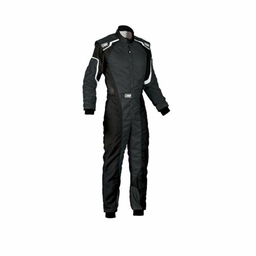 - Genuine with CIK FIA homologation 54 OMP KS-3 MY19 Karting Suit Black