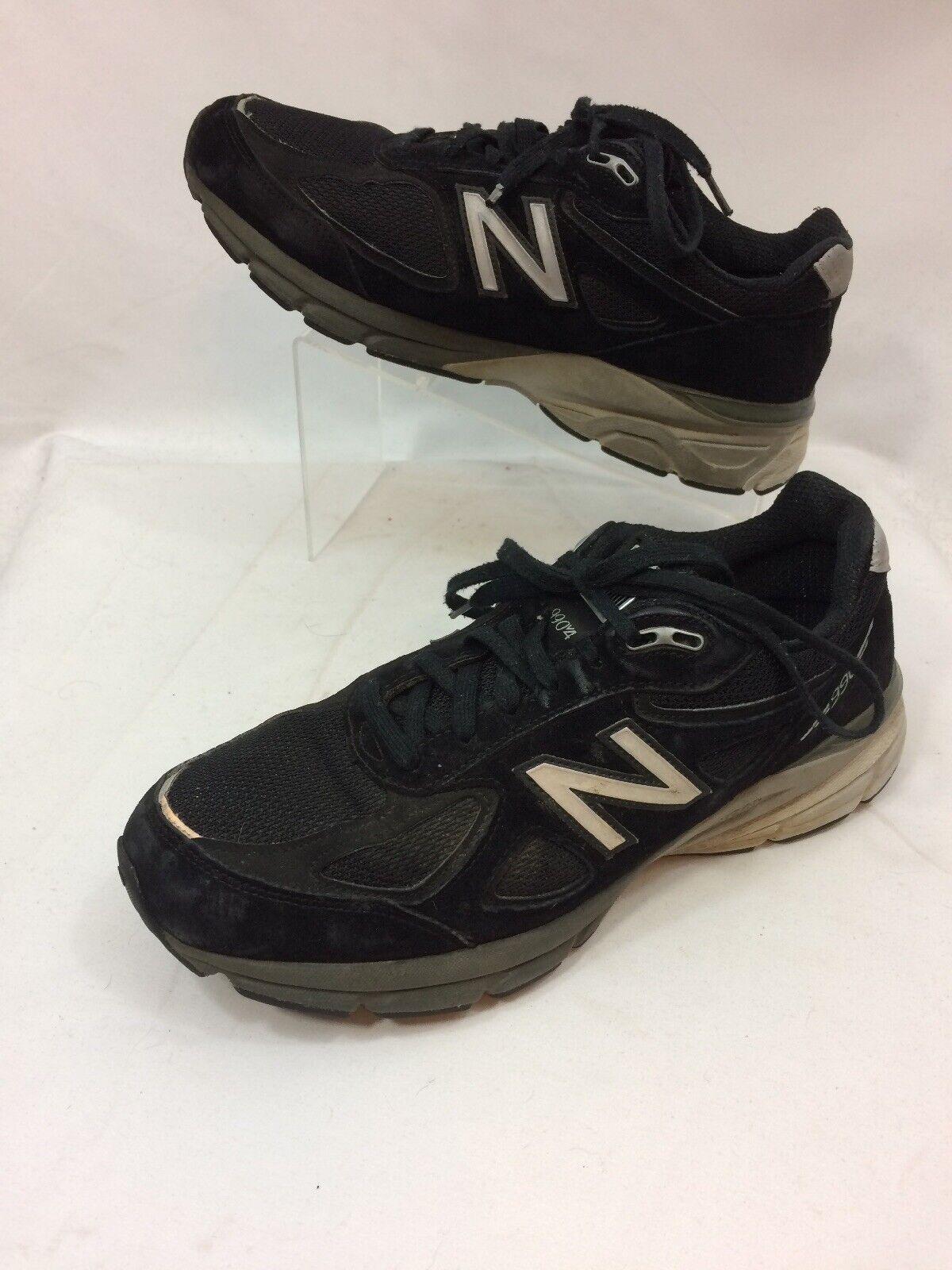 New Balance 990v4 10.5 US 2E Mens Running Black  Excellent