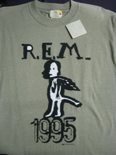 REM ©1995 L R.E.M. Rock Concert T-shirt NEVER WORN