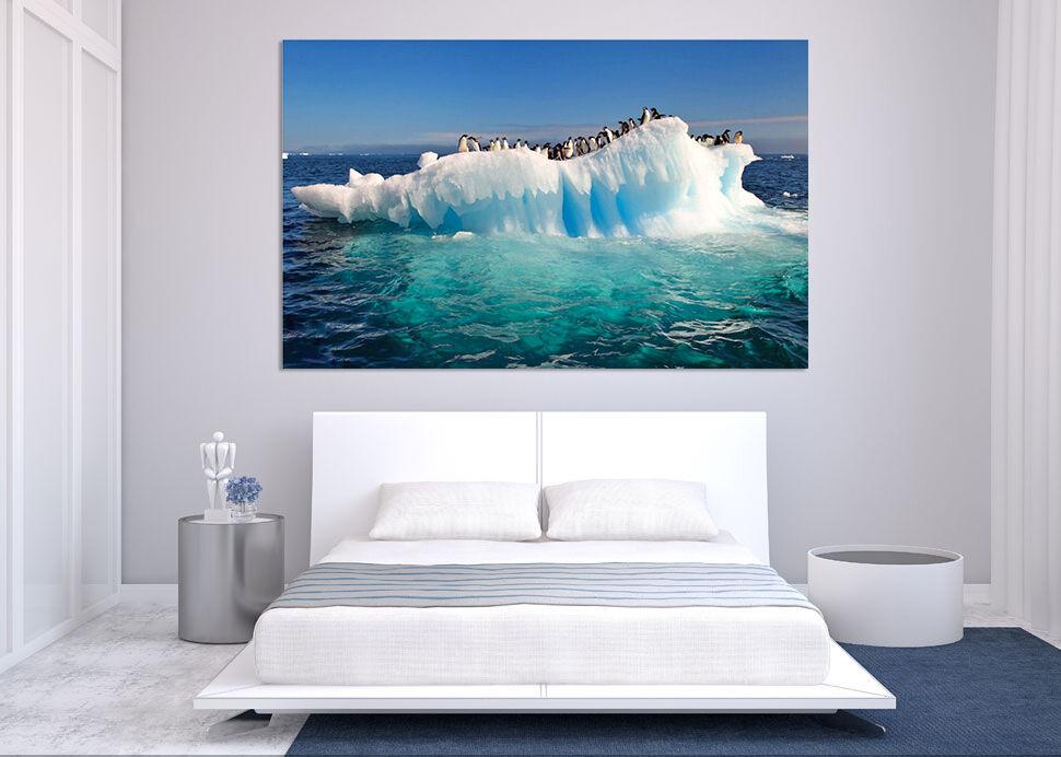 3D Gletscher Meer 643 Fototapeten Wandbild BildTapete AJSTORE DE Lemon