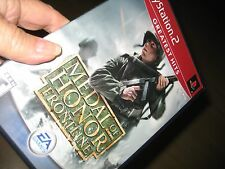 PS2 PLAYSTATION EA SPORTS MEDAL OF HONOR FRONTLINE Video Game Rated T