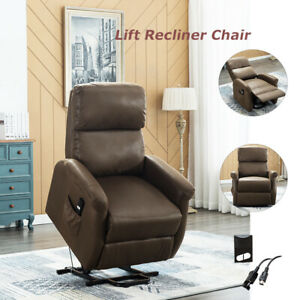 Electric-Power-Lift-Recliner-Chair-Leather-Lounge-Sofa-Living-Room-for-Elderly