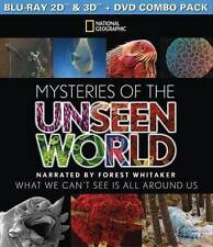 Mysteries of the Unseen World (Blu-ray/DVD, 2015, 2-Disc Set, 3D)