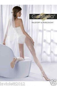 Gabriella-Wedding-Collecton-Hochzeits-Strumpfhose-Collant-03-weiss-mit-Naht