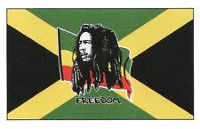 Bob Marley & Jamaica Flag - 5' x 3'