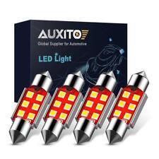 New Listingsuper White 36mm 6411 Led Interior Bulbs For Dome Map Trunk License Plate Light