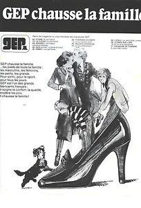 a4d7ed46e6e245 PUBLICITE ADVERTISING 1980 GEP chaussures qui chaussent toute la ...