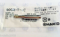1pc 900M-T-4C Replace Soldering Solder Leader-Free Solder Iron Tip For Hakko 936