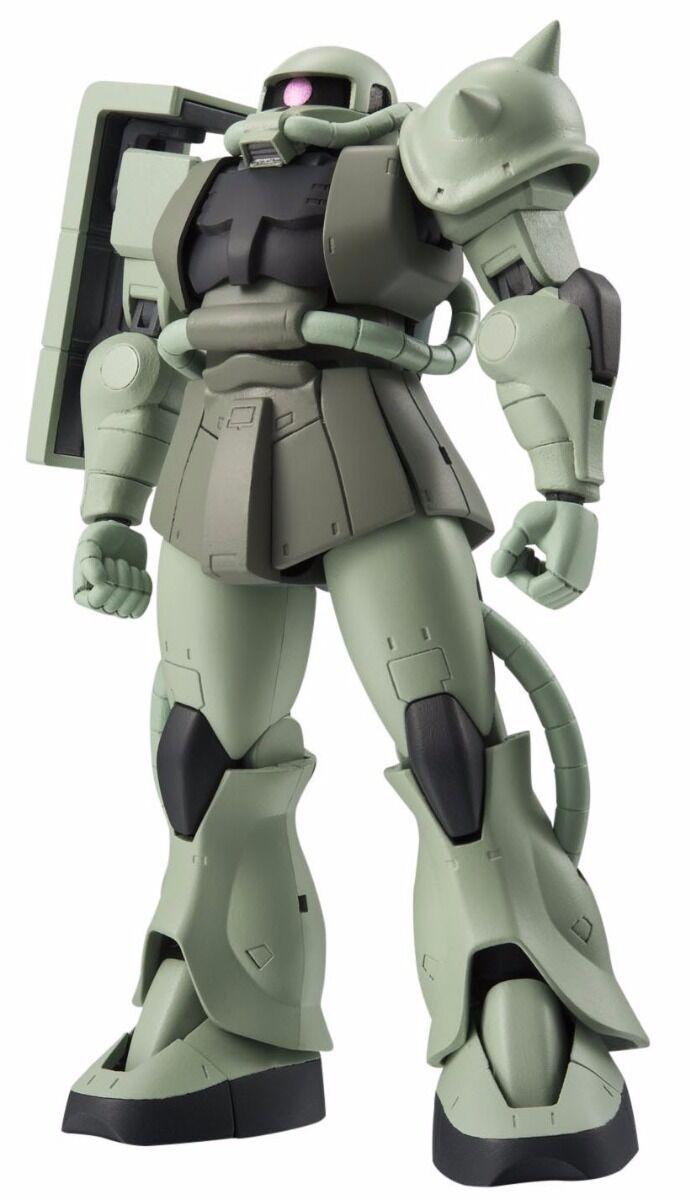 ROBOT SPIRITS SIDE MS MS-06 ZAKU II Ver A.N.I.M.E. Action Figure Gundam BANDAI