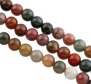 54-Achatsteine-Bunt-6mm-Natur-Perlen-Edelsteine-Schmucksteine-A-Grade-G812-3