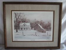 1983 L.Edition Signed  Gary Hawk Winter Morn Lithograph 18/150
