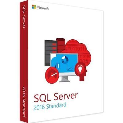 Vollversion Volumenlizenz Für Terminal-s. Adroit Microsoft Sql Server 2016 Standard