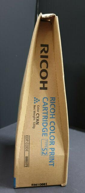 Ricoh Toner Type S2 Cyan 888375 Originalverpackt Neu