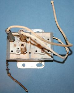 1953 1954 1955 Corvette electrical fuse box, junction ...
