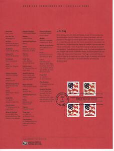 SSS-USPS-2002-Souvenir-Page-37c-Flag-Non-Denominated-Bklt-amp-Coil-Scott-3620-23