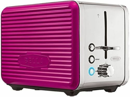 Bella Linea 2 Slice Toaster Pink Brand New