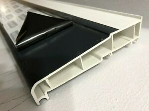 UPVC-Windows-amp-Doors-Cill-Sill-150mm-WideX-705mm-Black-White-Colour-Window-Door
