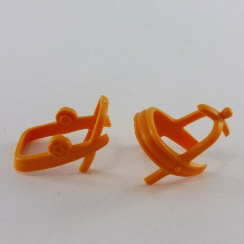 20060 Playmobil Harnais de Parade Orange Chevalier Cheval 1ere Génération
