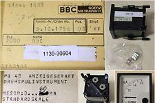 BBC GOERZ METRAWATT Strommesser PQ 48, Messbereich 0-60mA