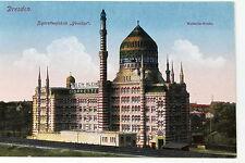21954 DRESDEN Friedrichstadt Tabak Zigaretten Fabrik Yenidze Moschee um 1914