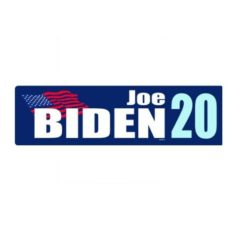 Joe Biden For President 2020 Navy Blue Bumper Sticker