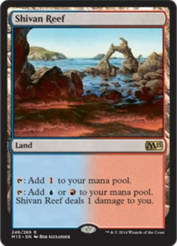 BARRIERA DI SHIV MTG SHIVAN REEF EXC MAGIC M15
